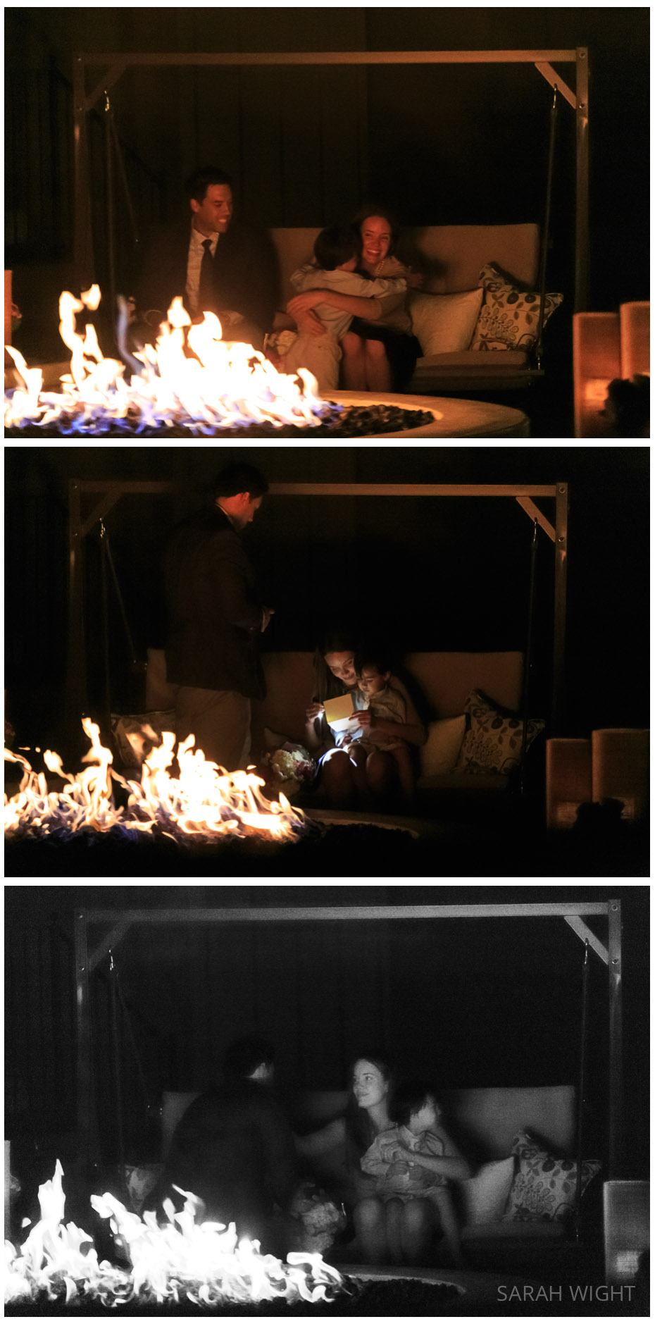 2 Utah Romantic Fire light Secret Proposal Photographer.jpg