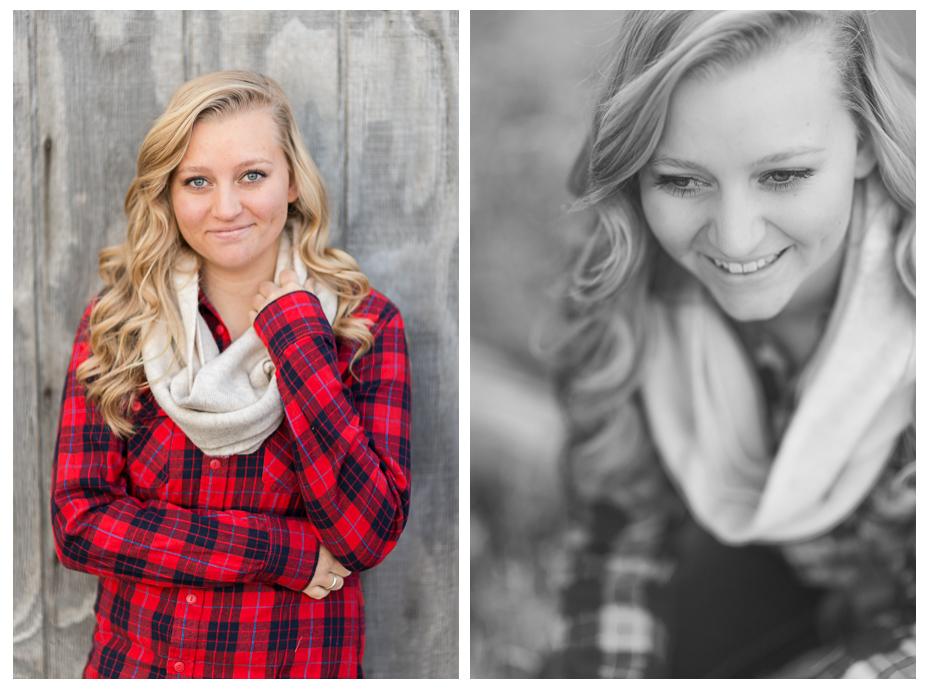 Utah Country Fall Farm Senior Portraits
