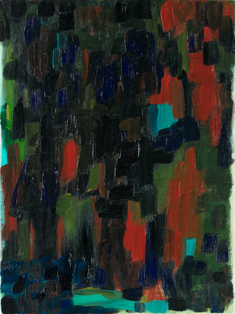 "Ironwood , 2017, oil on canvas, 11 x 14"""