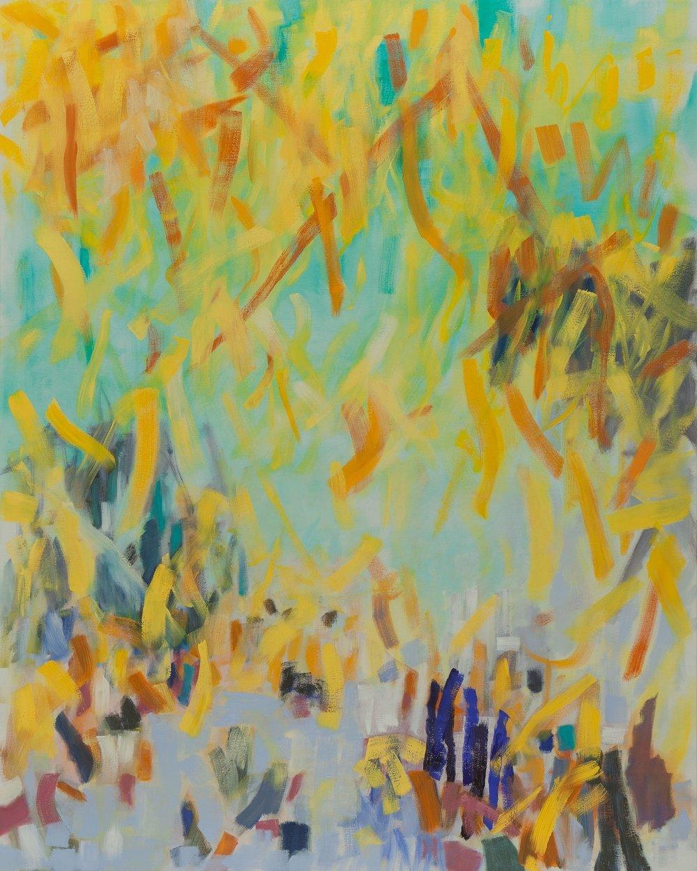 "Scuba , 2014, oil on canvas, 48 x 60"""