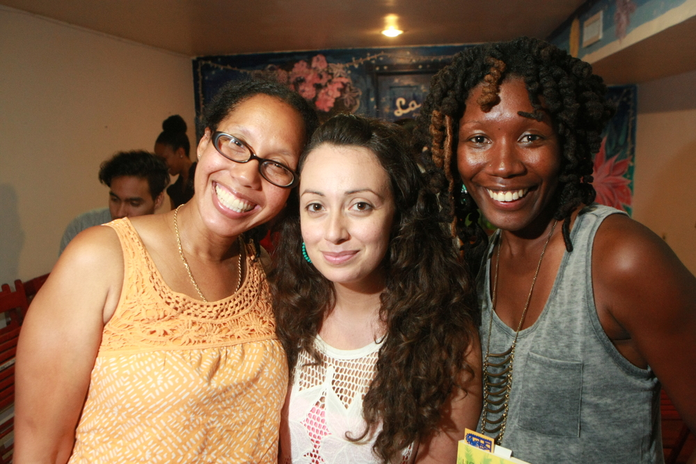 Tiphanie Yanique, Jennine Capo Crucet and Nicole Dennis-Benn