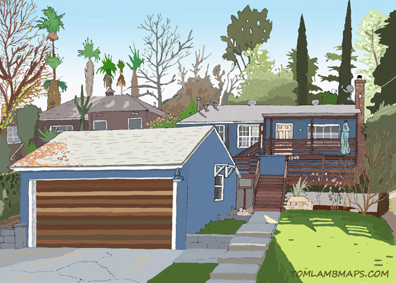 Sample Custom Home Illustration