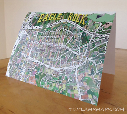 Eagle Rock greeting card
