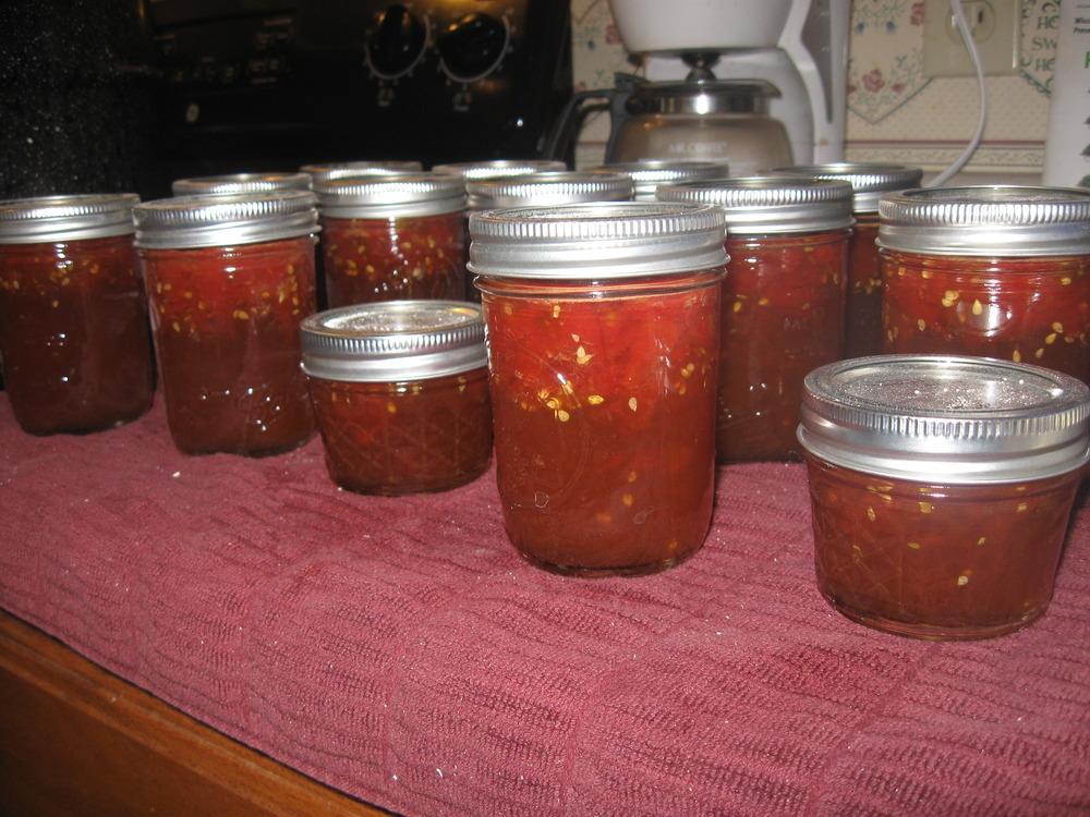 ....spicy tomato jam!