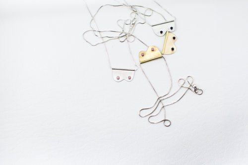 Ta Ta Necklaces by Cosmic Twin