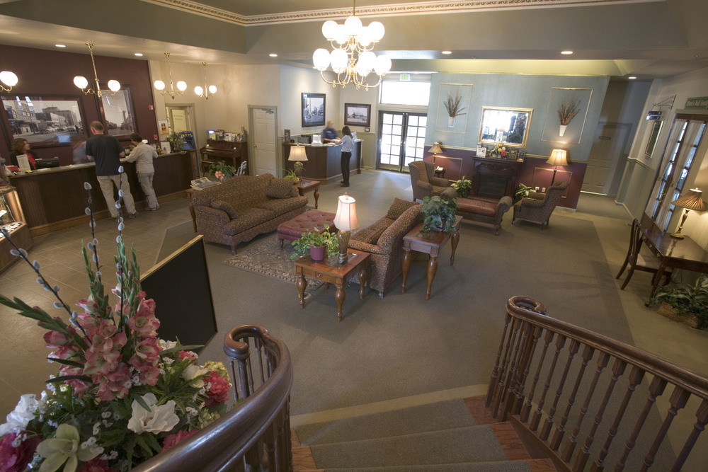 The Main Hotel Lobby at River's Edge Resort