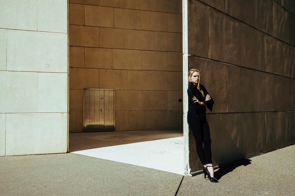 Model: Simone Luker AVA models