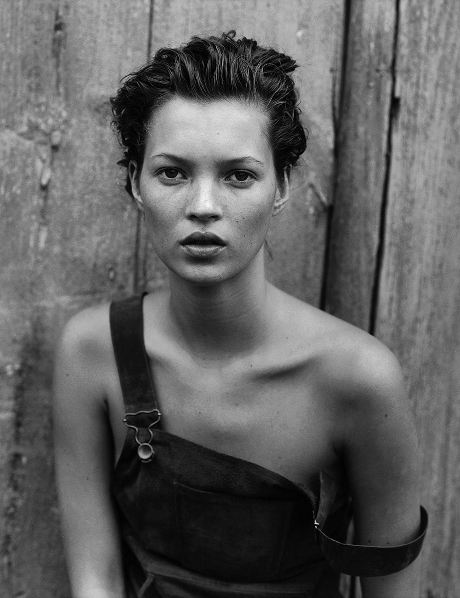 Kate Moss, by Peter Lindbergh - for VOGUE September 1991.