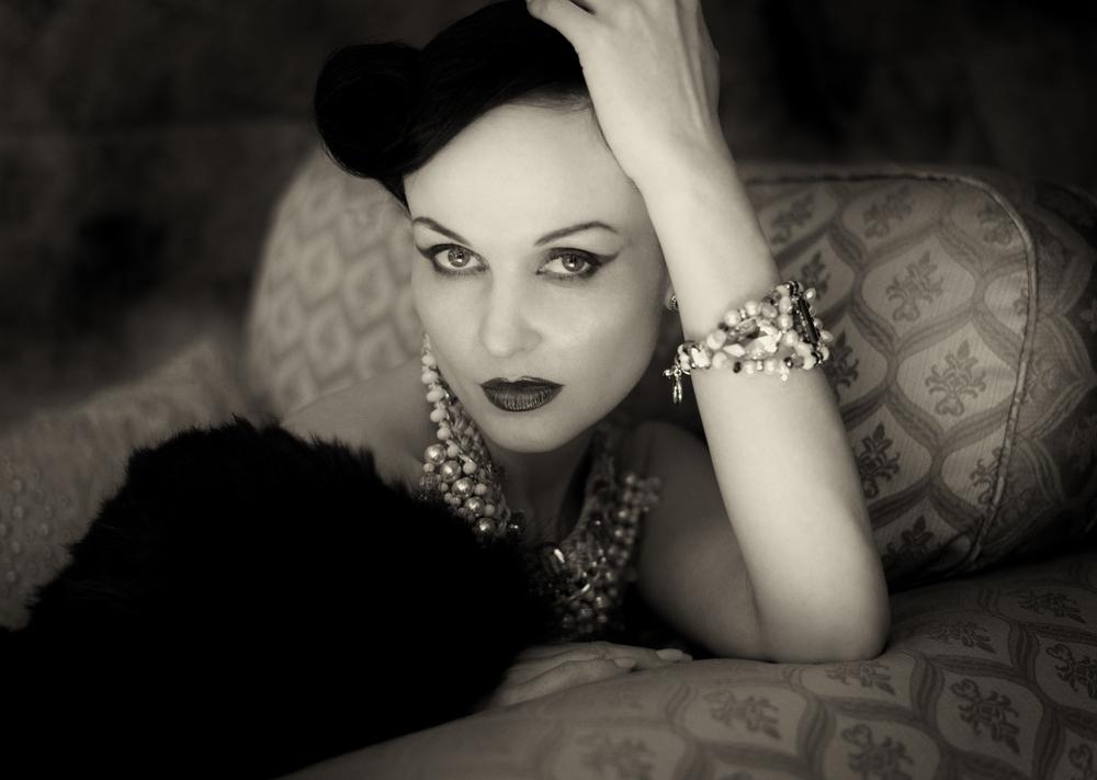 Model: Anne Duffy  HMUA: Burton Yuen  Styling: GIAN  Assist: Thomas Popieszny