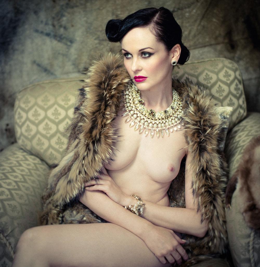 Model:  Anne Duffy  HMUA:  Burton Yuen  Styling:  Gian Designs