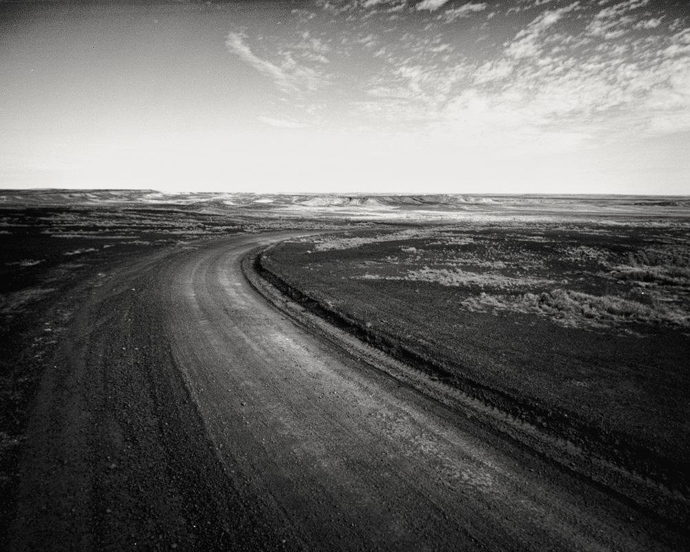 We found an Iceland in the desert.On Kodak Portra 160 - Mamiya 7