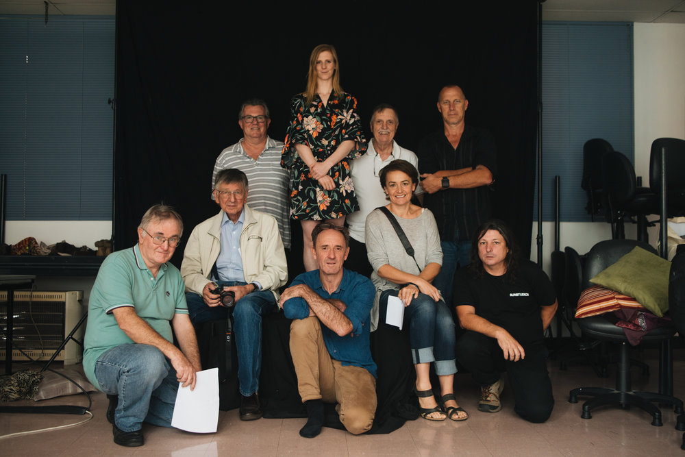 A group of happy photographers! The lovely folks who attended the one day Photographic Art Nude course at WEA College in Sydney last month. This course was written and tutored by  Lauren Michelle  and myself and was the first course of its kind in the country as far as we know.