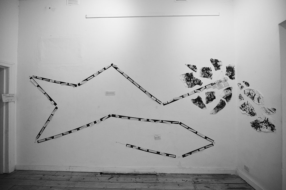 A Poetic Turn- Lauren Michelle (installation of poetry)