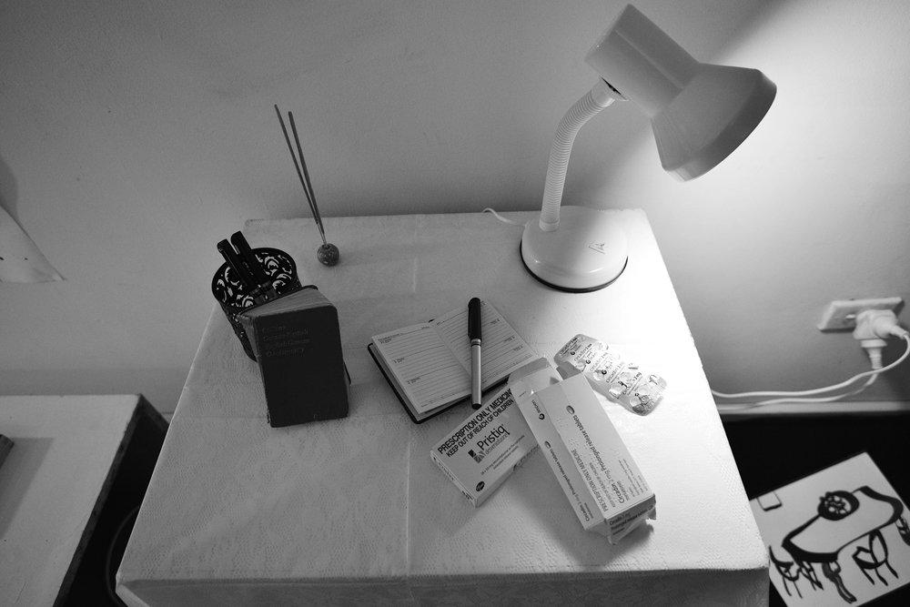 Bedside Table - Lauren Michelle (installation)