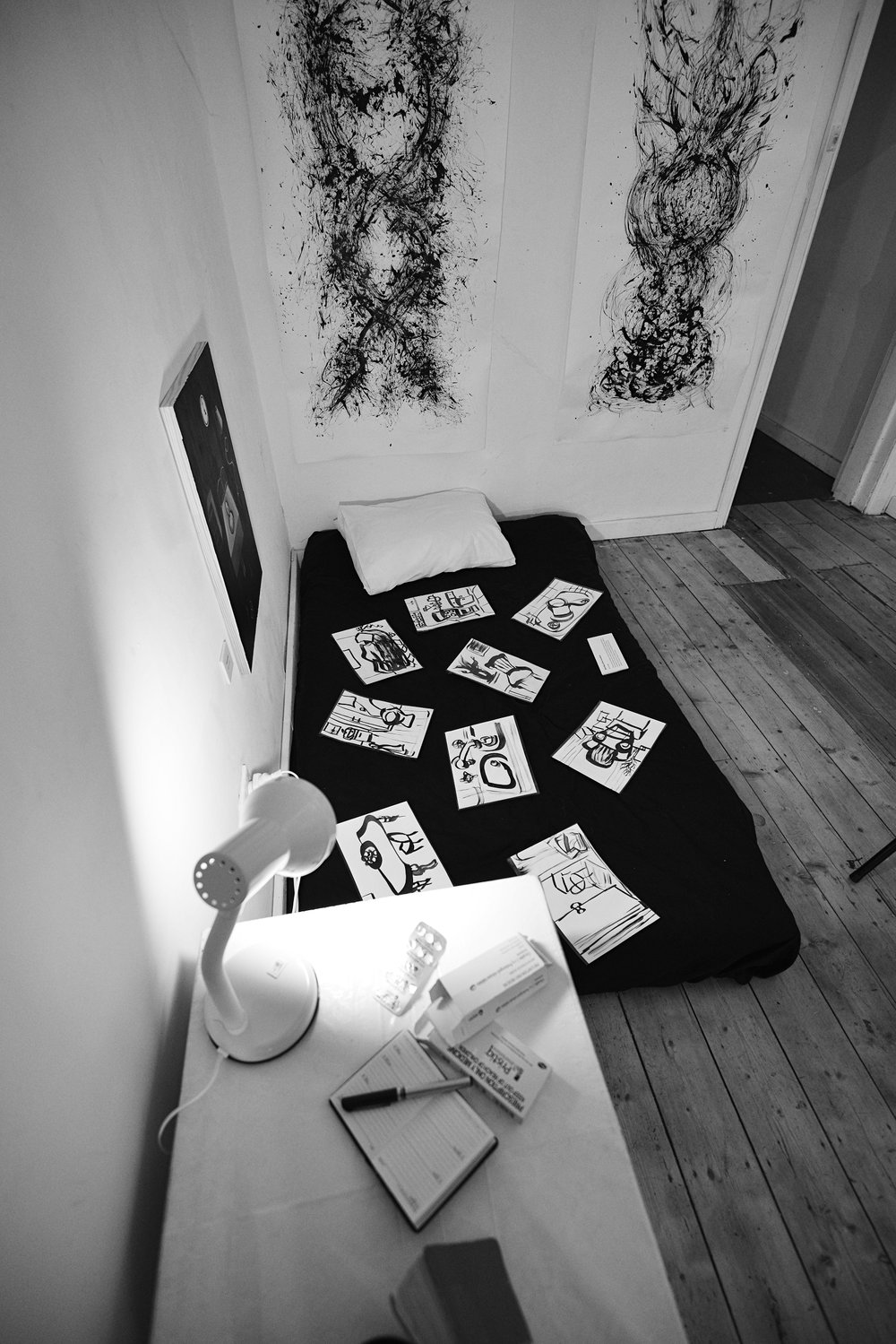 'Bed and Table' - Lauren Michelle (installation)