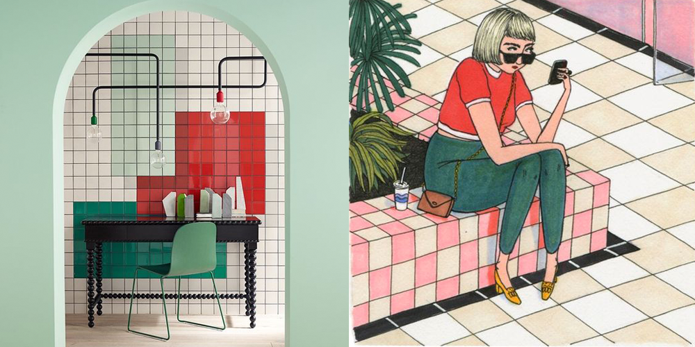 Left:  Apartment Therapy ; Right:  Sally Nixon