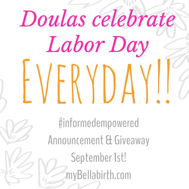 Stay tuned to the mybellabirth.com facebook page, blog and Instagram account for a big Labor Day announcement! myBellabirth blog already has the details of the giveaway up! #birth #bellabirthgr #childbirth #doula #grdoulas #grandrapids #hypnosis #hypnobirthing #informedempowered #mothers #pregnancy #relaxation #woman #westmichigan