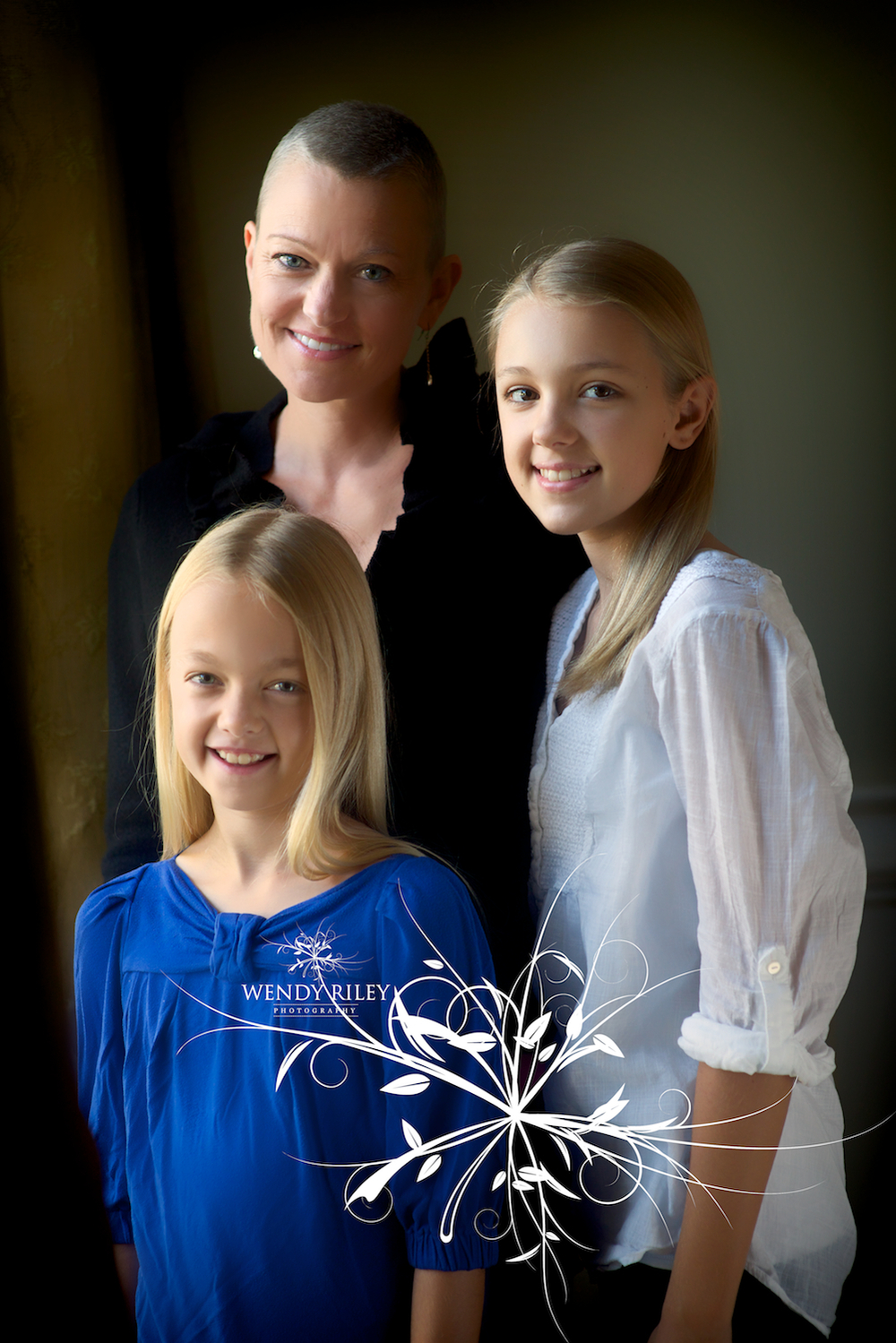 The sweet girls that have the same beauty and strength as their sweet Mama!
