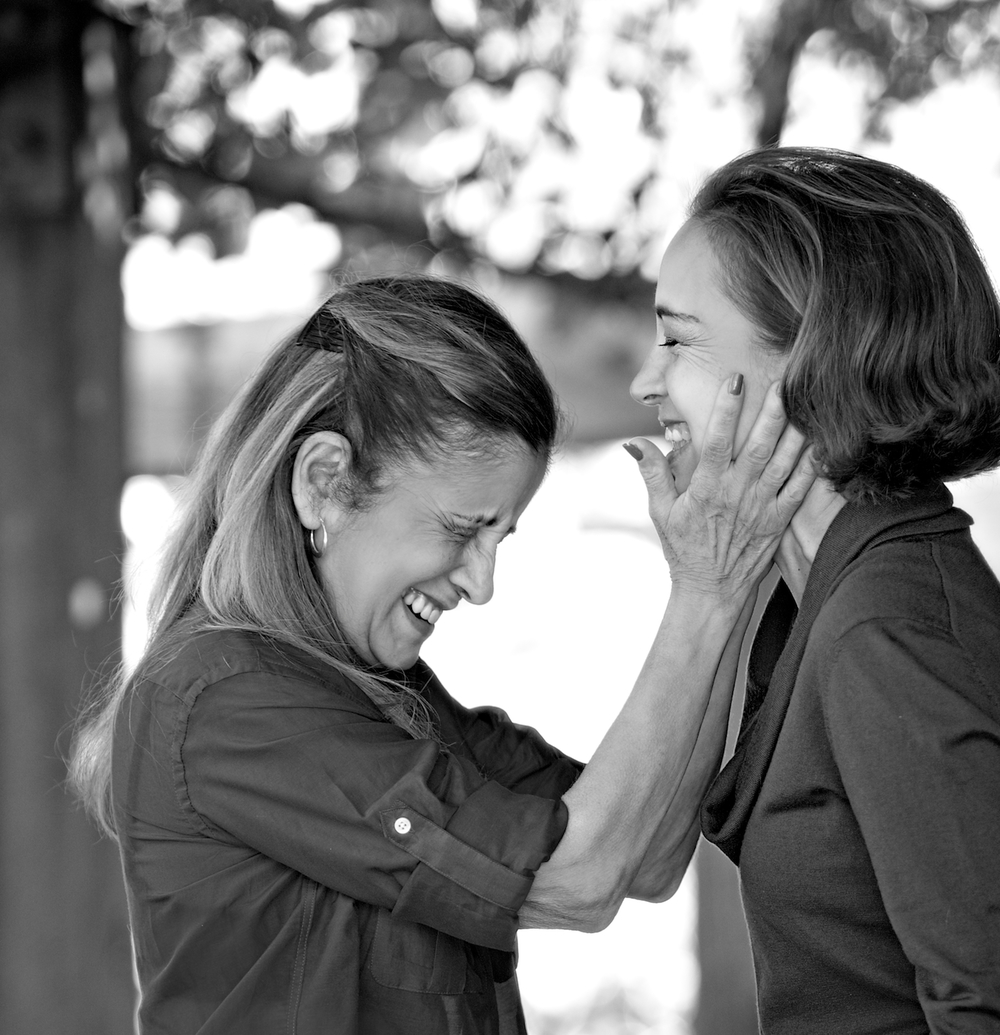 A laugh between Mother + Daughter... there are few sounds better than this.