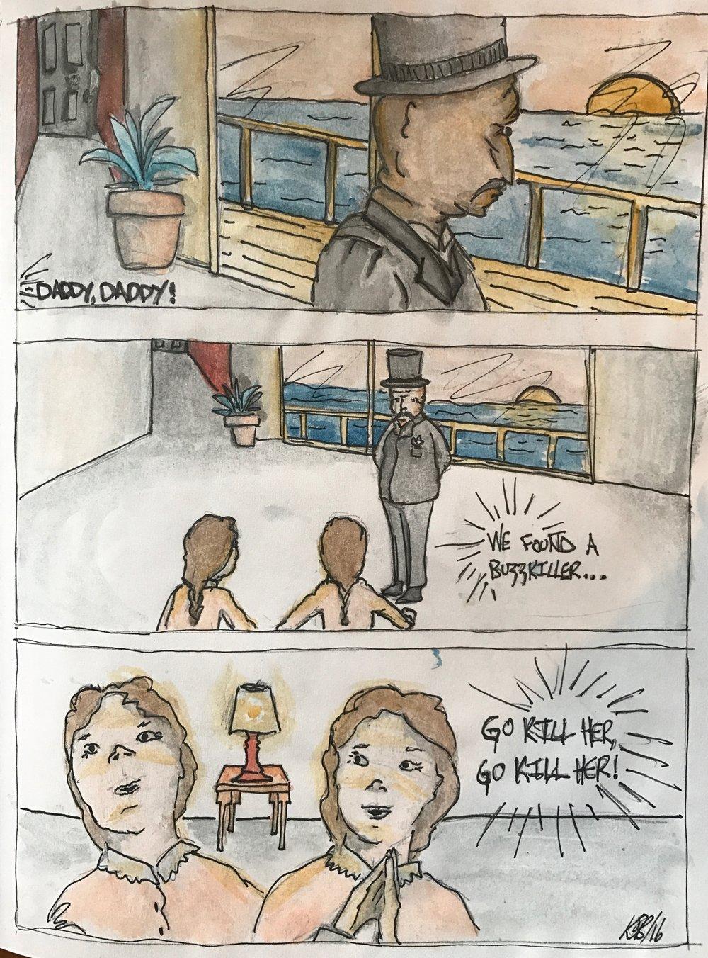 Buzzkiller Comic