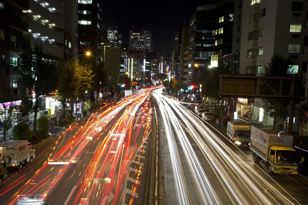 Shinjuku Traffic