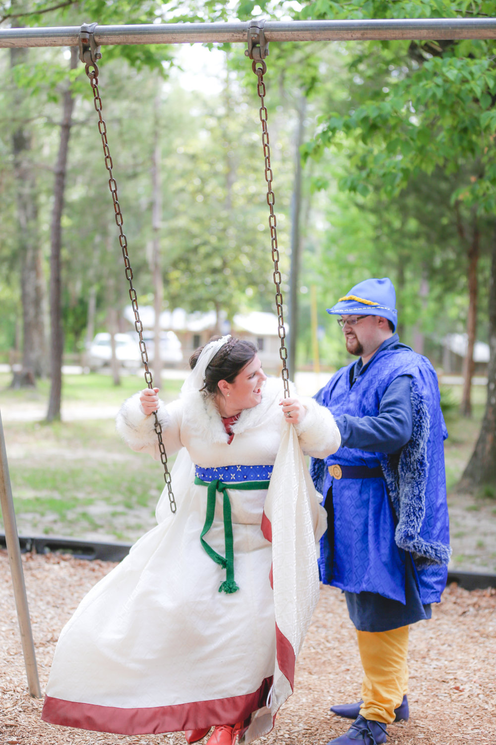 Gainesville Medieval Wedding Photography
