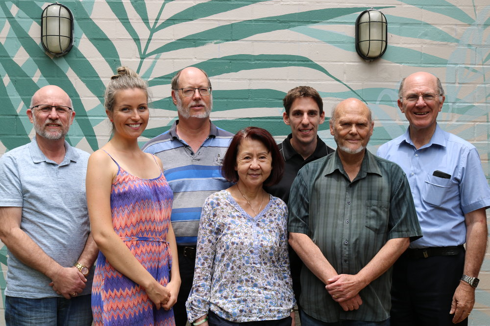 HCR Australia staff with some of the Board at a recent meeting.