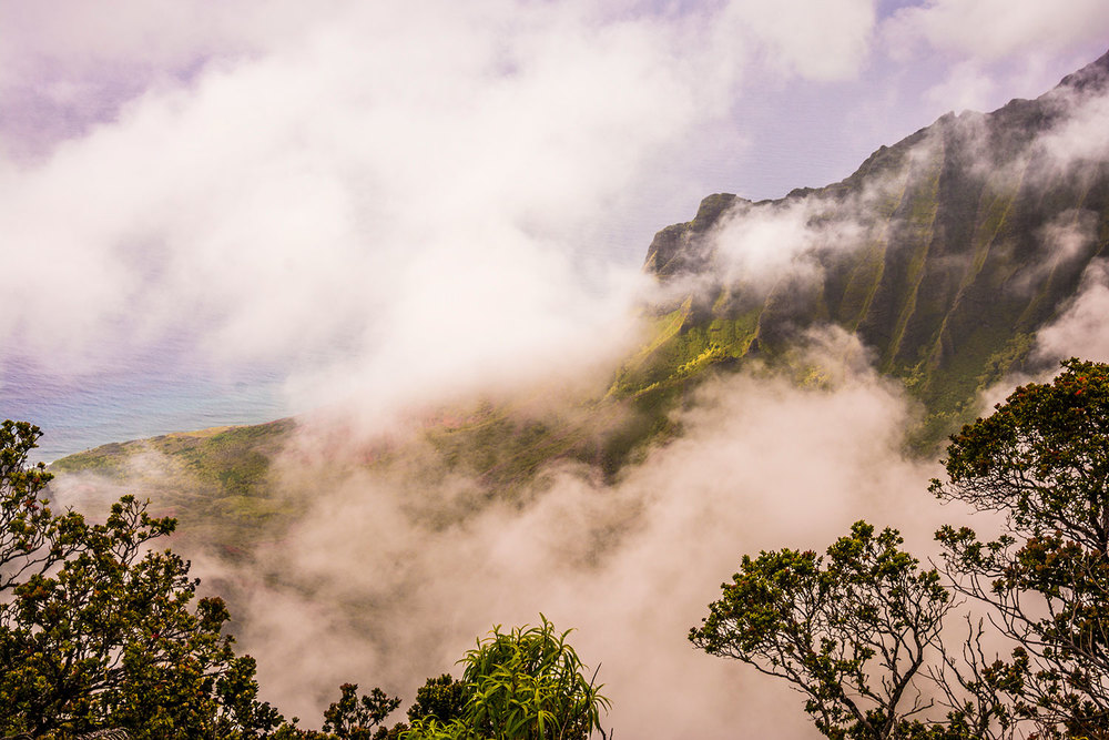 The Kalalau Valley, Kauai