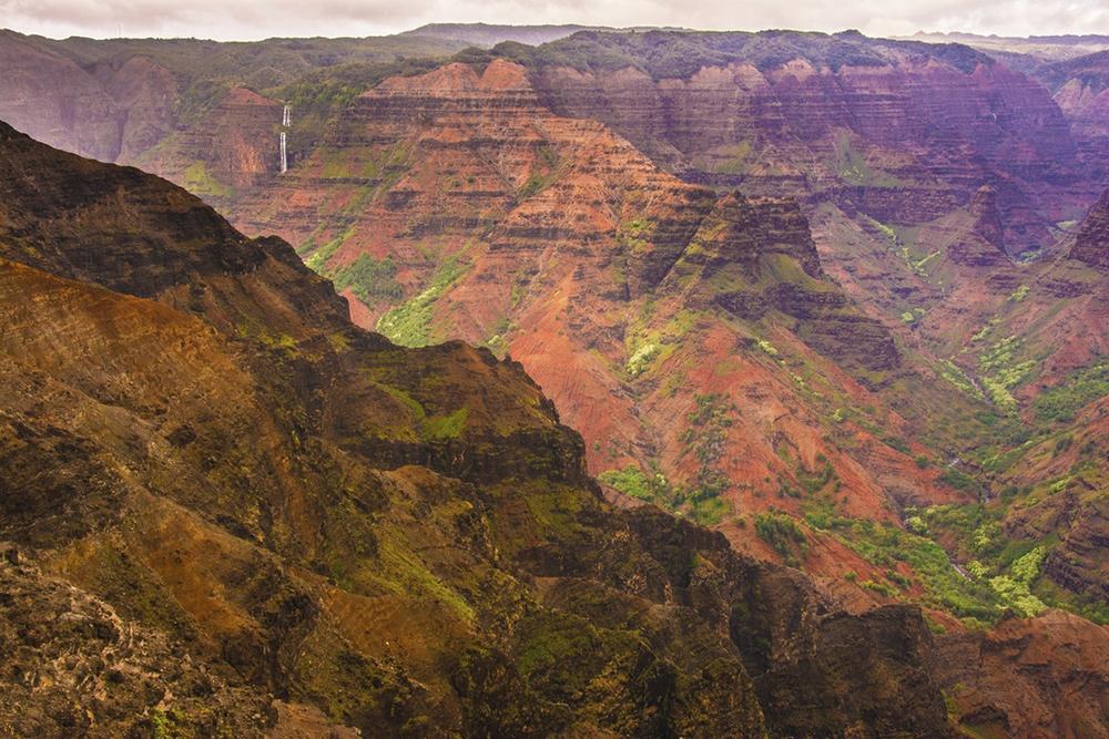 Spectacular Waimea Canyon, Kauai