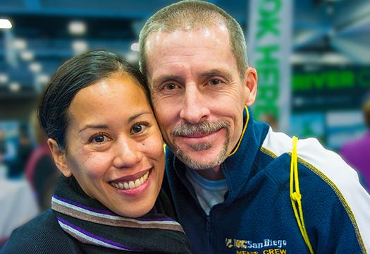 Cheryl Hile and her husband, Brian