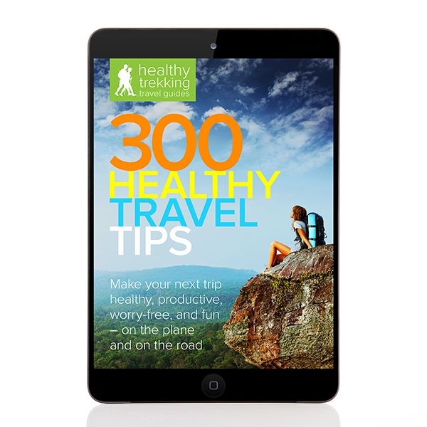 Whether you're a business road warrior or planning your vacation adventure, 300 Healthy Travel Tips can make your next trip more healthy, productive, and fun. Without the stress.