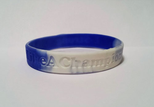 bluewhitewristband
