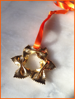 SHOP#OHMacaroni Ornaments Farfalle = Bow Tie