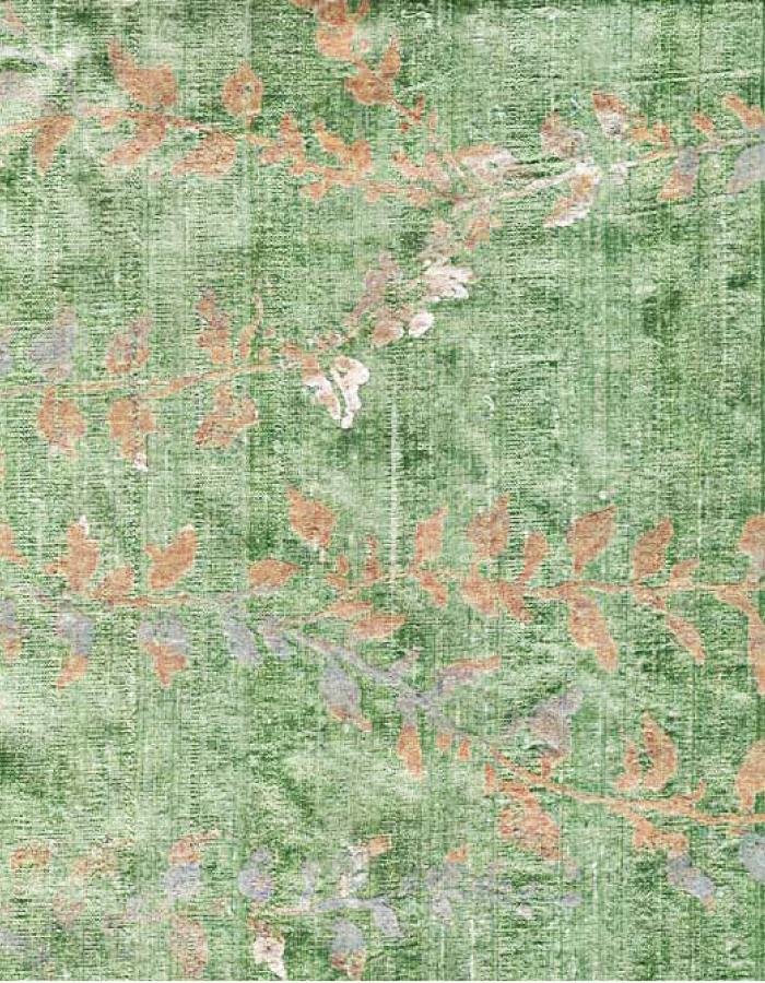 PZSS Green VIneTextilesplain.jpg