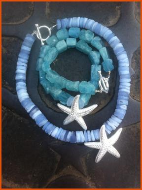 The Ritz-Carlton Starfish Aquamarine & Chalcedony #RobertBentley