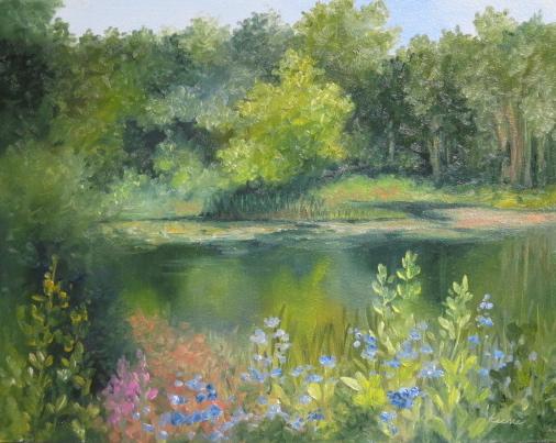 Daniel Wright Pond Again