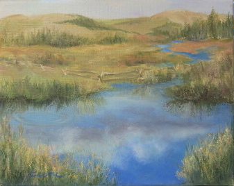 Devil's Thumb Ranch Pond