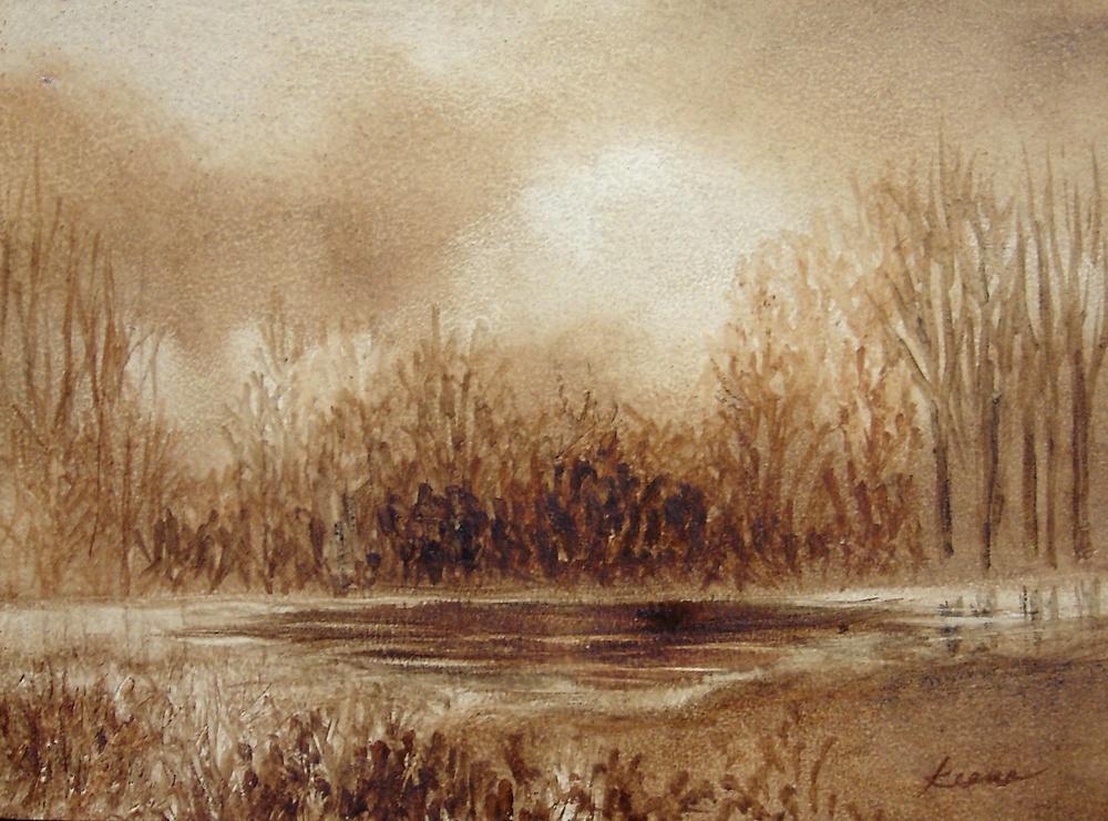 Sepia Winter