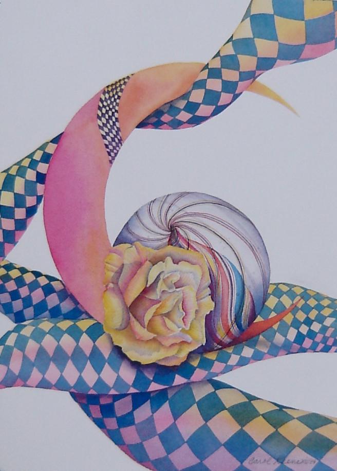 Crescent Yellow Rose
