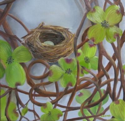 Dee's Dogwood Wreath