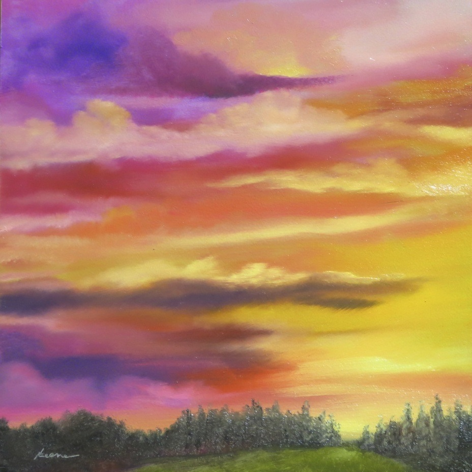Conifer Sunset