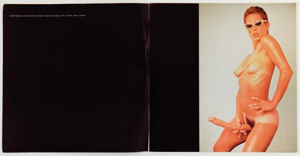 Artforum Advertisement, Lynda Benglis, 1974, Daily Serving.