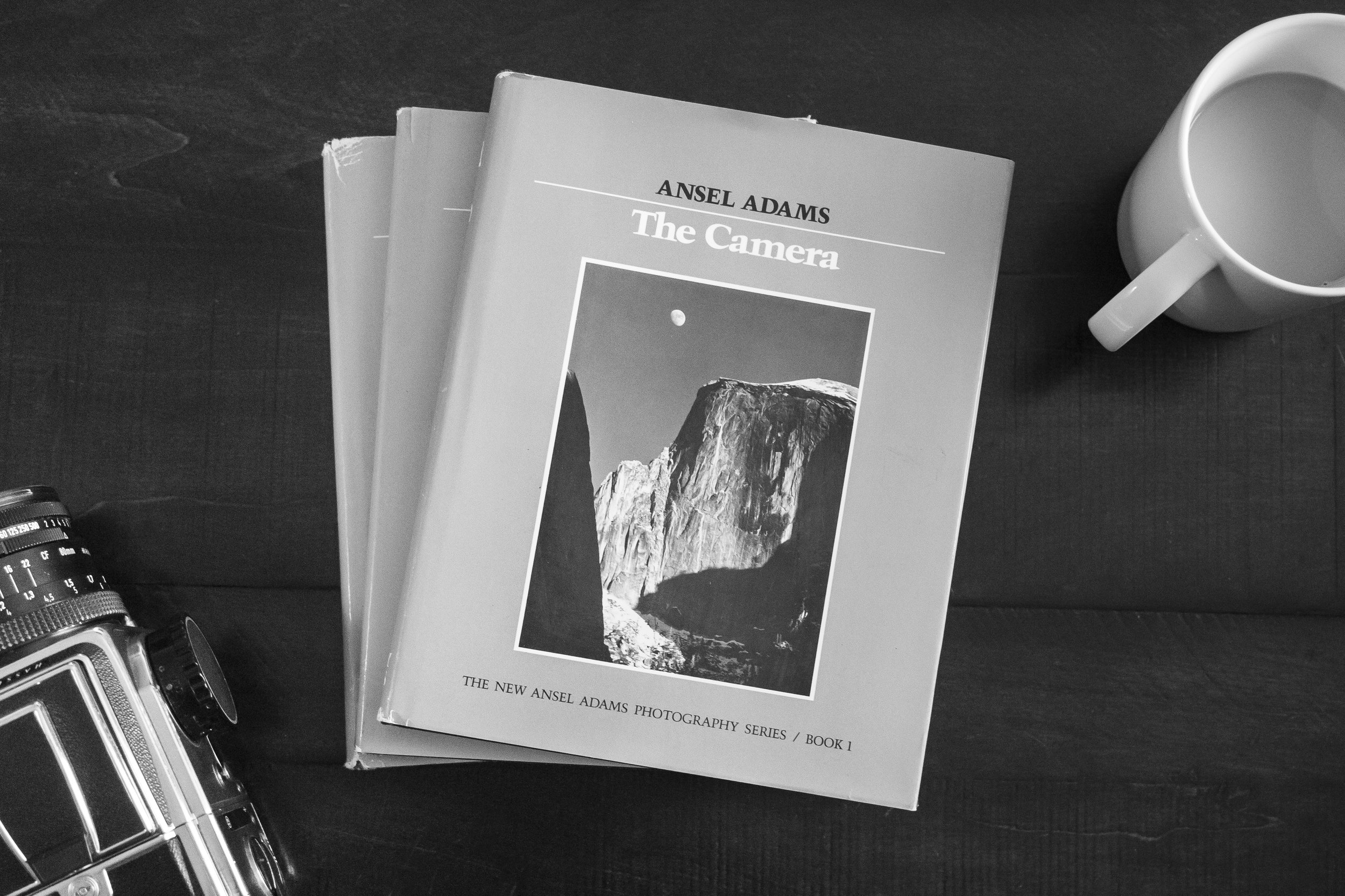 Photography Books Ansel Adams The Camera Negative Print