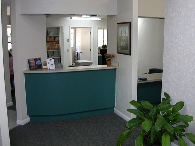Front Desk of the