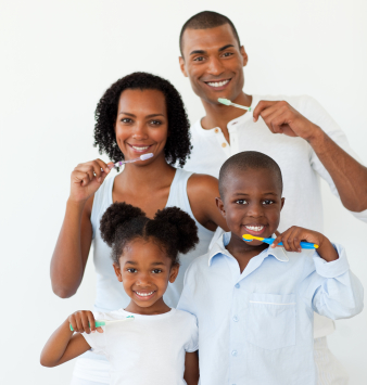 Gainesville FL Dentist Oral Health - A Healthy Family is a Happy Family