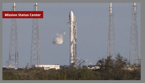 SpaceX Falcon 9 rocket scheduled to launch today
