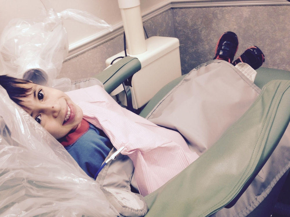 Pediatric patient's first visit to the dentist in our Gainesville Florida dental office