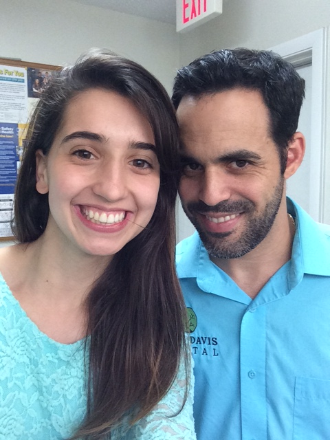 Gainesville Dentist - Toni V. visiting Cruz Davis Dental