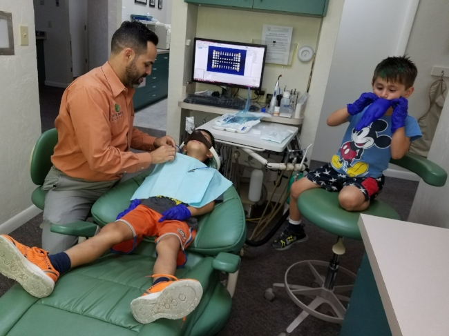 We offer pediatric services at our Gainesville dental office