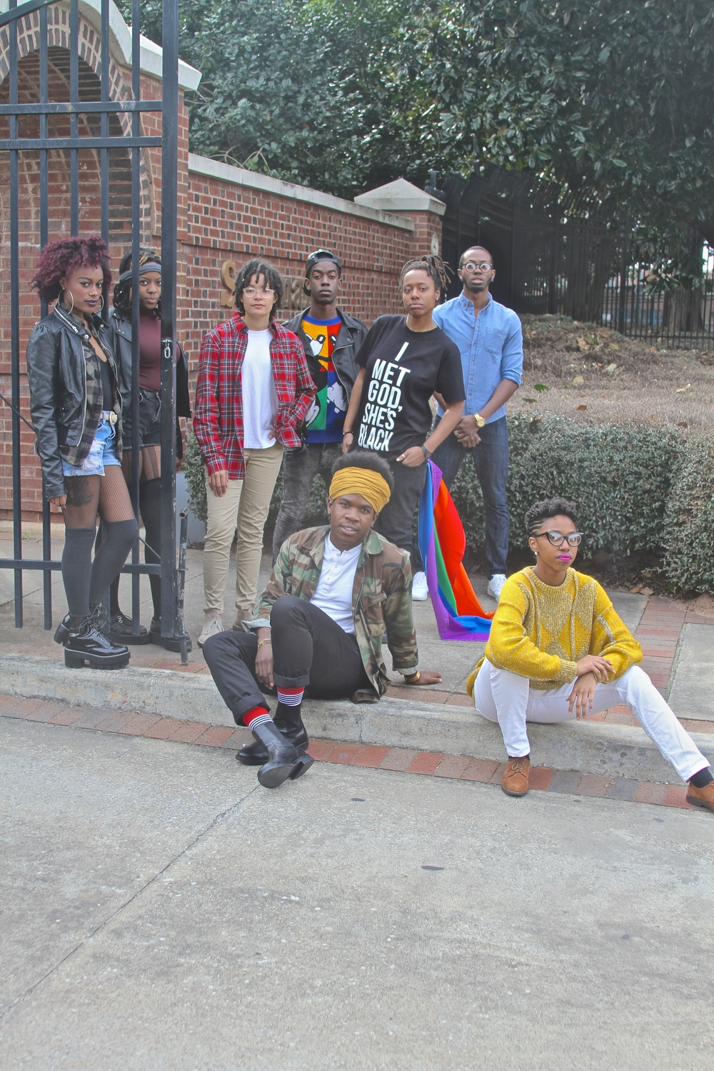 "In 2010, Morehouse College Safe Space (MCSS) organized and made history with the celebration of its very first P.R.I.D.E (Progress, Restoration, Identity, Dignity and Empowerment) Week. Students of the GBT community/Queer diaspora were given a voice and space to affirm their identities and the opportunity to take PRIDE in who they are as a people holistically. Campus saw a variety of events including various (LGBT) movie screenings, HIV testing, an Equality Ball, the return of LGBT Christian organization Soulforce's Equality Ride, a panel discussion featuring B. Scott and campus-wide meetings about sexuality, diversity, and gender expression. In the same spirit, Spelman's Afrekete has also organized pride weeks   and numerous events on their campus as well. In 2009, they dedicated their first annual pride week as a radical response to Morehouse's New Appropriate Attire Policy; The theme of week was ""A House Divided Cannot Stand."" One of the most popular events to date—which closed the week and gained lots of support—was The Appropriate Dress Attire WERK Fashion Show co-sponsored with MCSS. The show interrogated normative notions of gender expression while fiercely pushing back against gender policing present in the Atlanta University Center featuring students in—and out of—drag, poetry, music, and lots of fun.  Following in the footsteps of both organizations'  fierce predecessors Je-Shawna C. Wholley, Michael Brewer, Daniel Edwards, and Kevin Webb, the theme/focus of the week was: ""We Are Coming Home: Claiming Space, Redefining It, & Celebrating Wholeness.""   The goals for the celebratory week were to be quite intentional and bold, but simple: to celebrate the fearless, creative, and resilient spirits of LGBTQ folks of color; to promote community and alliance building amongst our student body; and to celebrate, affirm, and take pride in our identities—culturally, spiritually, and holistically."